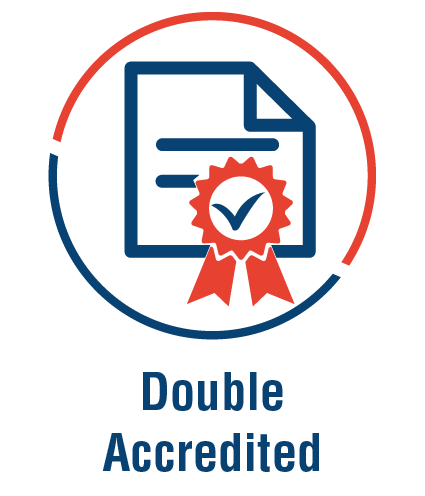 Double accredited-01