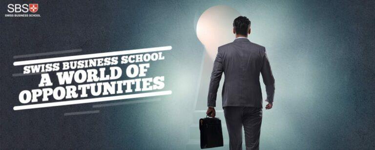 SBS Swiss Business School: A World of Opportunities
