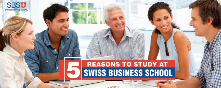 5 Reasons to Study at Swiss Business School