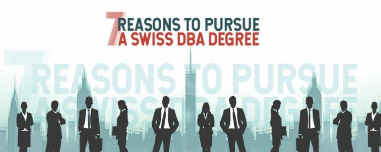 7 Reasons to Pursue a DBA Degree
