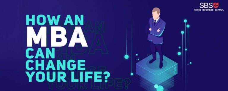 How can an MBA change your life?