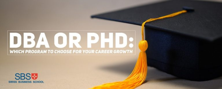DBA or PhD: Which program to choose for your career growth