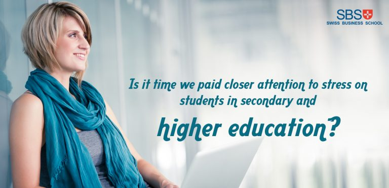 Is it time we paid closer attention to stress on students in secondary and higher education?