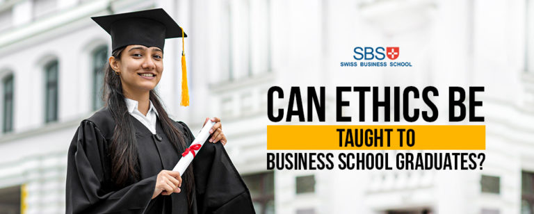Can Ethics Be Taught to Business School Graduates?